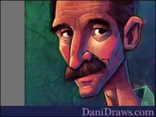 Dani's Videos #6: Mustache Man