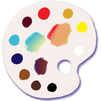 Create Your Own Painter's Palette in Photoshop