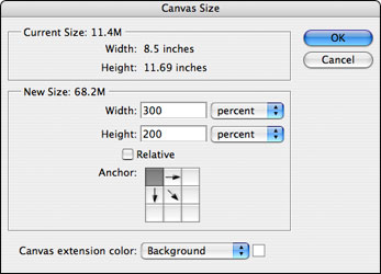 Scanners, Part 3 - Canvas Size settings