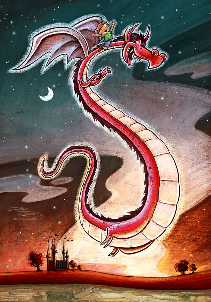 Dragon by Dani Jones http://danidraws.com