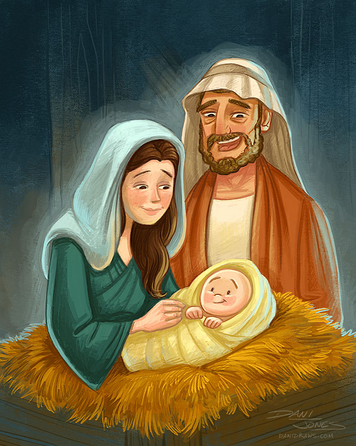 Jesus Christ Lives by Dani Jones http://danidraws.com