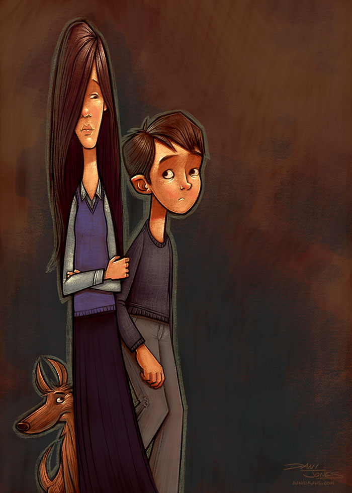 Sad Kids by Dani Jones http://danidraws.com