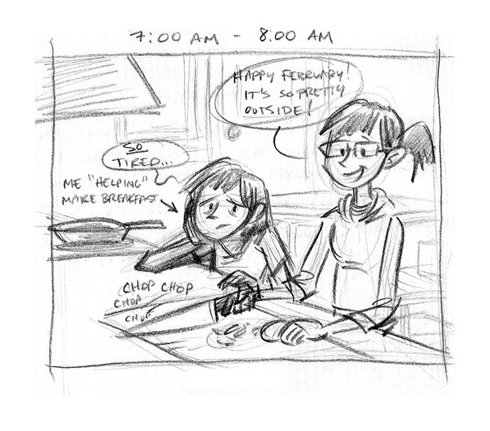 Hourly Comic Day 2013 by Dani Jones Page 1