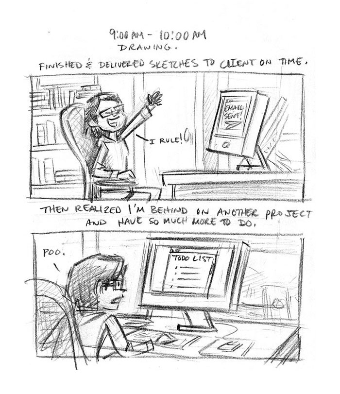 Hourly Comic Day 2013 by Dani Jones Page 3