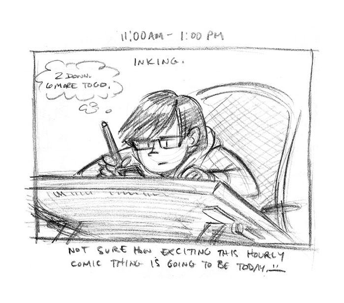 Hourly Comic Day 2013 by Dani Jones Page 5