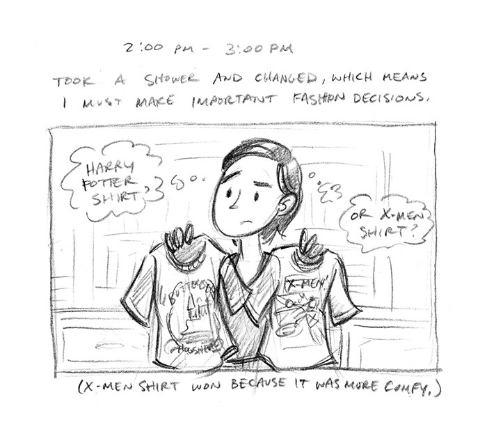 Hourly Comic Day 2013 by Dani Jones Page 7