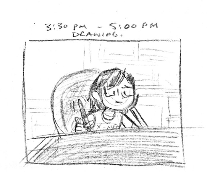Hourly Comic Day 2013 by Dani Jones Page 9