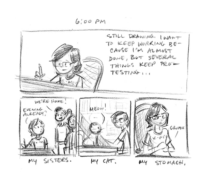 Hourly Comic Day 2013 by Dani Jones Page 10