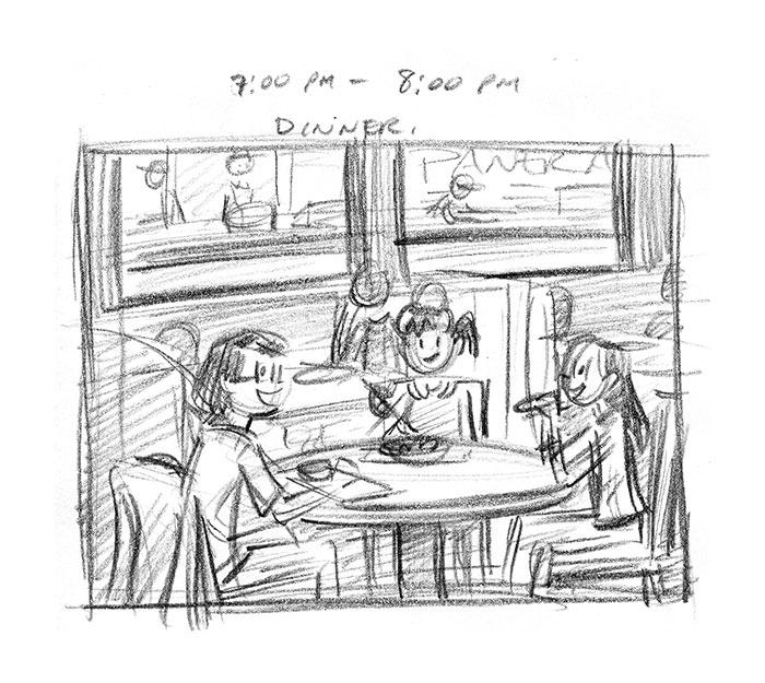 Hourly Comic Day 2013 by Dani Jones Page 11