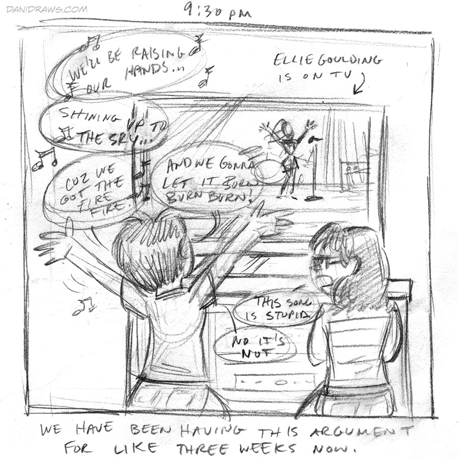 Hourly Comic Day 2014 by Dani Jones danidraws.com