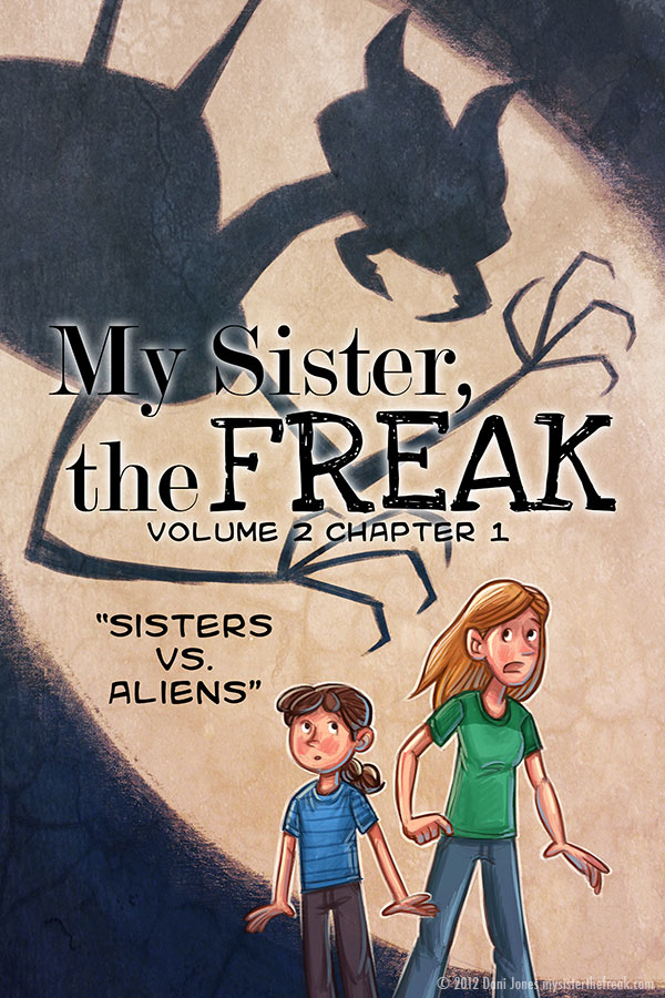 My Sister the Freak Vol. 2 Ch. 1 by Dani Jones danidraws.com