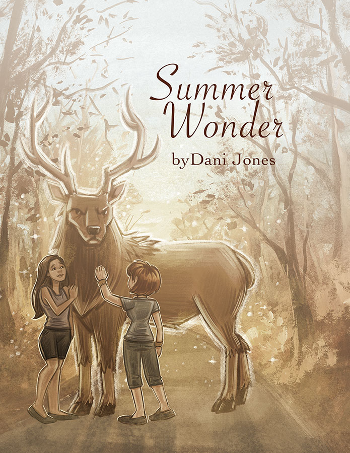 Summer Wonder sketchbook by Dani Jones danidraws.com