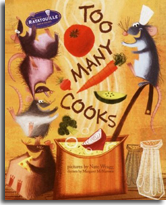 Ratatouille - Too Many Cooks illustrated by Nate Wragg