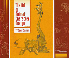 Book of hte Month: The Art of Animal Character Design