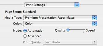 Printsettings