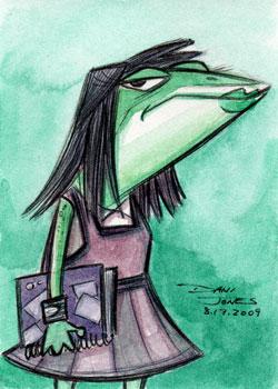 Misfit Frog