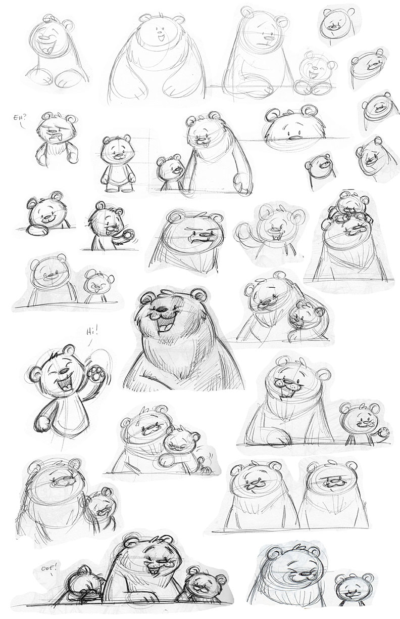 Ouat Bearsketches