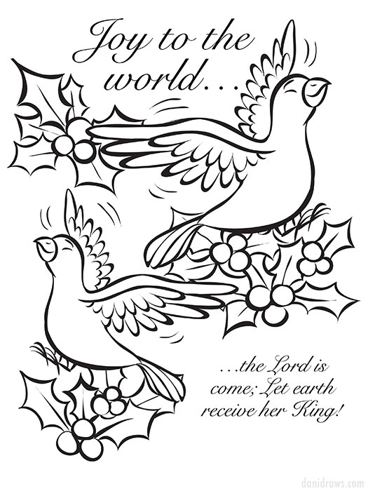 no related posts - Christmas Coloring Book