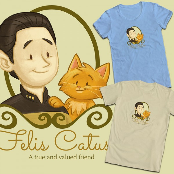 Felis Catus shirt design by Dani Jones http://danidraws.com