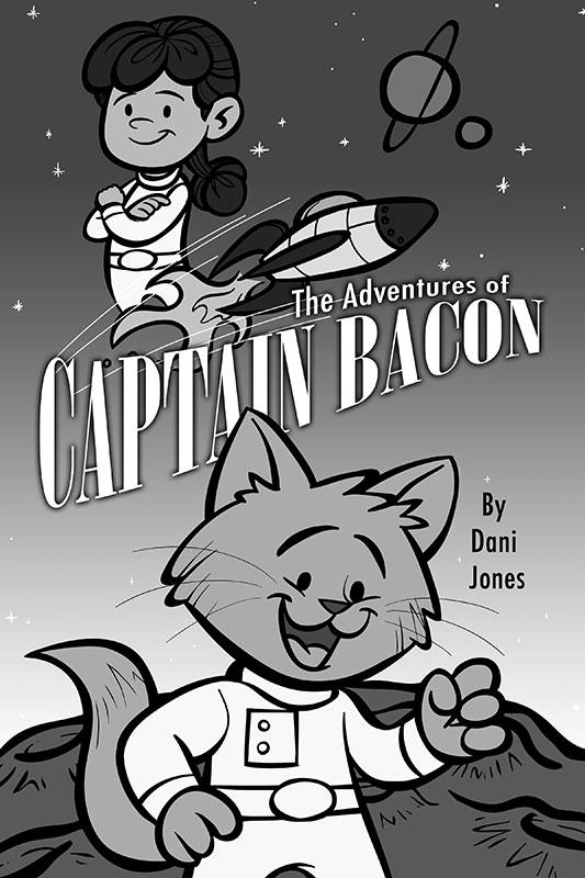 The Adventures of Captain Bacon by Dani Jones http://danidraws.com