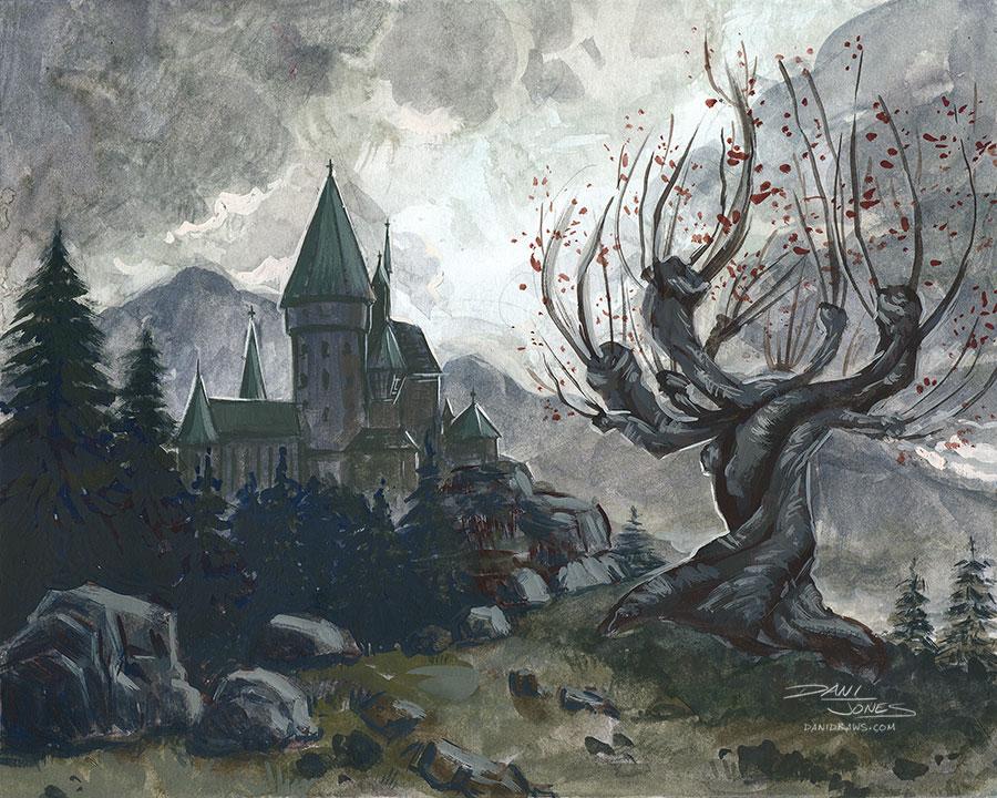hogwartspainting